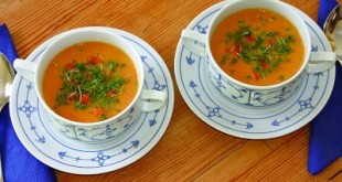 Curry-Karottensuppe