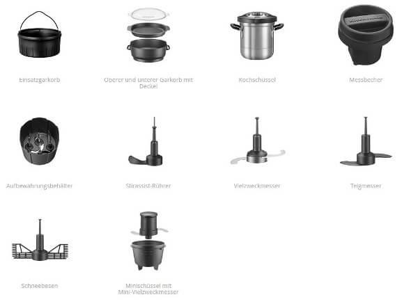 Lieferumfang Artisan Cook Processor