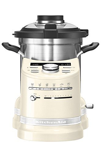 KitchenAid Cook Processor in creme