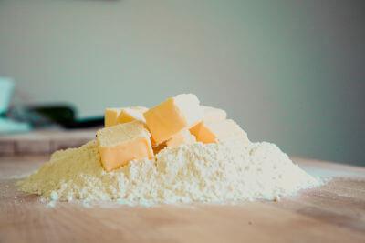 Butter zum Backen