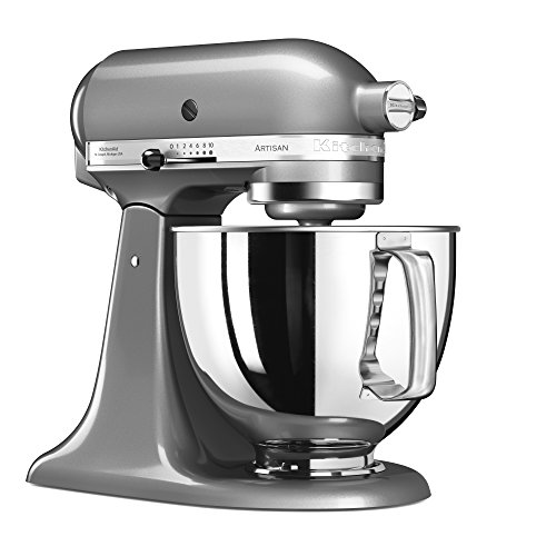 KitchenAid Artisan in kontur-silber