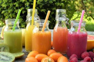 Gesunder Durstlöscher aus dem Entsafter