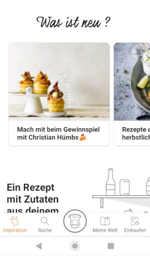 Screenshot App Krups Prep&Cook